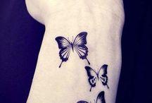 Fjärilstatueringar