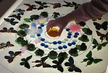 ECE: Light Exploration / From light boxes to shadows to sunlight and more, light play can be so much fun!
