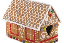 A very Biscuiteers Gingerbread House / Our DIY kit has everything you need to make your own gorgeous festive gingerbread house. In our kit you'll find pre-baked gingerbread house pieces, royal icing sugar, piping bags and an assortment of beautiful decorations, with easy-to-follow instructions.