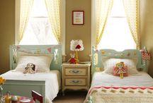 Children's bedrooms / by Katherine Nabors