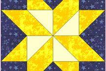 "12.5"" Quilt Block Patterns"