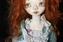 Bjd: dolls, heads for sale with my handmade faceup