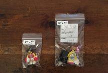 Хранение минифигурок Лего