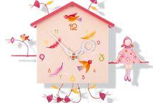 Horloge fille