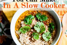 Crockpot And Freezer Meals / All the recipes I find for use in a crockpot or slow cooker. / by Michael Palmisano