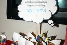 Jake's birthday party ideas