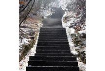 Klistermærker trappe