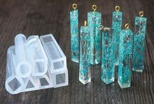 Resin Jewelry Ideas and Inspirations