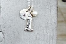 Beach Keepsakes -Beach jewelry Necklace / Your behind the scenes look book of who wears Fuession's Beach Keepsakes or how we create....