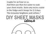Sheet Mask Diy