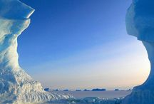 Antarctica, Arctic, Svalbard, Greenland