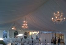 Chandeliers / We offer Chandeliers to be installed to brighten any occasion!
