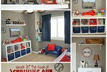 toddler bedroom (boys)