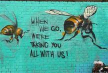 Streetart/Banksy e.a.