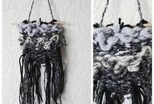 weaving / #weaving #tkanie #tkactwo #yarn #yarnporn #handmade #craft #craftart