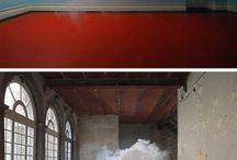 Idée peinture nuage