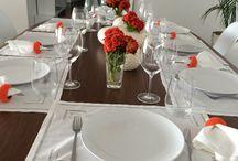 Detalhes para mesa / Vestir a mesa de forma elegante.  acreditamos em uma mesa para se  deliciar com grandes momentos  NÓS TEMOS UM SONHO