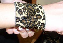 Beading: weave Animalprint