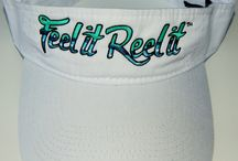 Protect your head / Feel it Reel it hats and visors to protect your head and face from the sun's harmful rays.