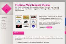 Web designer chennai / Freelance web designer Chennai create most excellent websites and digital strategies that make organizations more victorious.