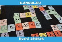Nyelvi Játékok / Az interaktív angol nyelvi játékok egyszerre szórakoztatóak és hasznosak az angol nyelvtanuláshoz. Fejleszd játékosan angoltudásod!