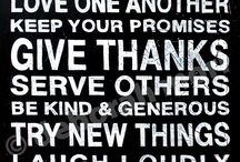 Words to live by... / by Jennifer Jordan