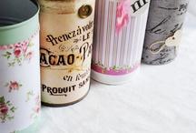 latas y frascos