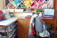 Future craft/crochet room