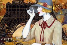 Art Deco painter [=] / Art Deco painter / by Edwige Gendron