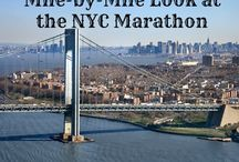NYC Marathon, running