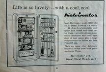 Vintage Fridges and Freezers