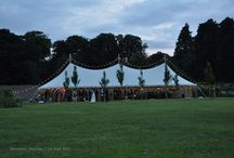 Tom and Sarah, July 2015 / Wedding in the walled garden at Dalton Hall, South Dalton