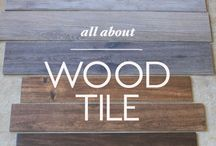 wood tiles