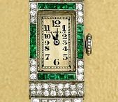 Tıffany art deco watch