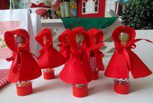 Festa Infantil Chapeuzinho Vermelho