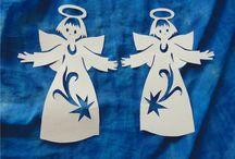 angyalok papírból