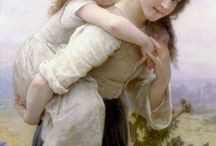 Toda Elegância nas pinturas de William Bouguereau