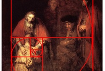 Rule of Thirds / Application of the Fibonacci spiral into art, architectural, photography pieces.