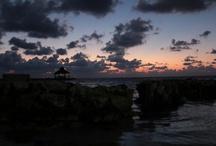 Sunsets in Belize / Ambergris Caye, San Pedro, Belize Photography Courtesy of Kase Jameson / by Golda Vanchipurakel