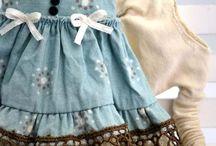 одежка для куколок.