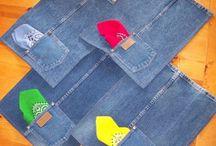 aus jeans untersetzer