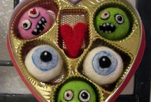 Valentines inspired by Fright Night at the Site / Fearing zombies that you can make at home for your loved ones with Fright Night at the Site memories haunting you.