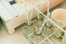 {palette} mariage vert d'eau • mint wedding