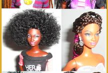 dolls with beautiful hair