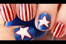 4th of July Nails! / Celebrate the 4th of July with these great looks for a Mani/Pedi!