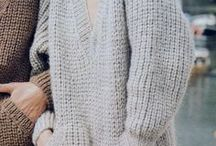 Knitted cardigans