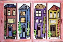 Painted Windows / by Nancy Jones