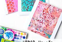 Art and craft tutorials