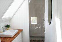 Salle de bains - rénovation ferme