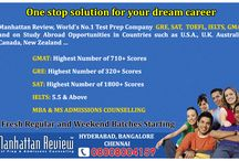 Manhattan Review Hyderabad / Manhattan Review's experts have been training and guiding student and helping them  achieve great scores on the GMAT Test, GRE Exam, SAT Prep, IELTS Score, TOEFL Score,  PTE Exam and thus getting them closer to the goal of getting into their dream university abroad.